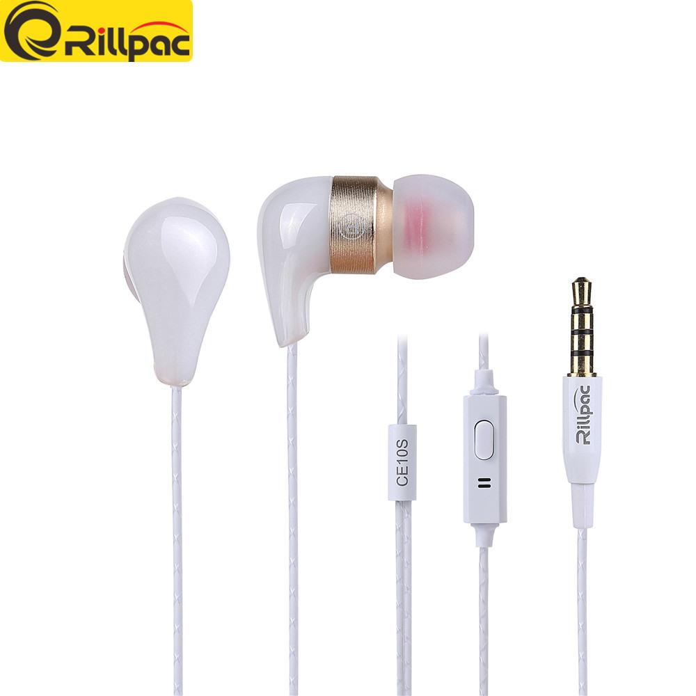 [해외]Rillpac CE10Smic 3.5mm In Noise Isolation HD HiFi 이어폰 이어 버드 스마트 전화 용 초 저음 용 스테레오 이어폰/Rillpac CE10Smic 3.5mm In ear Noise Isolating HD HiFi Earphon