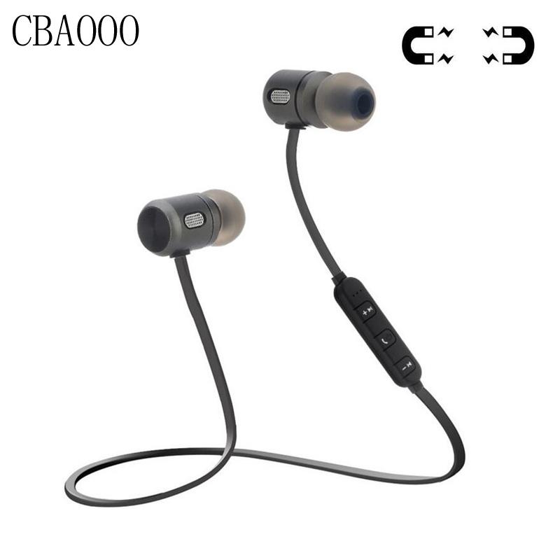 [해외]CBAOOO 스포츠 무선 블루투스 이어폰 헤드셋 마그네틱 블루투스 4.2 스테레오 이어폰 이어폰 마이크 For auriculares/CBAOOO Sport Wireless Bluetooth Earphone Headset Magnetic Bluetooth 4.2