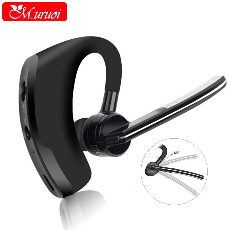 [해외]M.uruoi 블루투스 kulakl k 소음 제거 이어폰 무선 마이크 전화 이어폰 용 블루투스 헤드셋 휴대용 차량용/M.uruoi Bluetooth kulakl k Noise Cancelling Earphones Wireless Microphone For Pho
