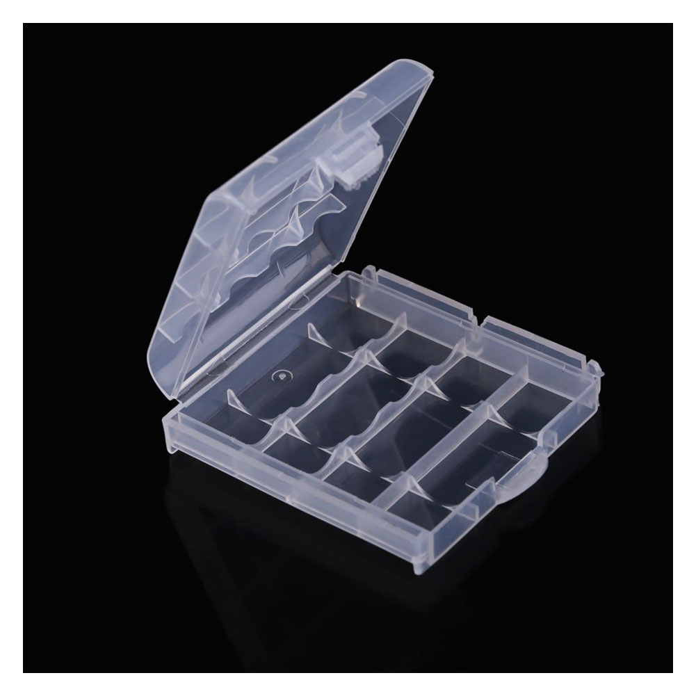 [해외]재충전 용 AA AAA 배터리 용 HFES New 10x 플라스틱 케이스 홀더 보관함 커버/HFES New 10x Plastic Case Holder Storage Box Cover for Rechargeable AA AAA Batteries