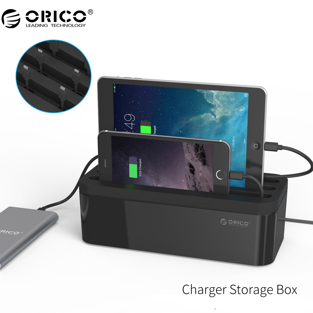 [해외]ORICO PB1028 USB 충전기 보호 상자 전원 관리 용 콘센트 박스 멀티 충전기/ORICO PB1028 USB Charger Protector Box Cable Management Electrical Outlet Boxes For Power Strip M