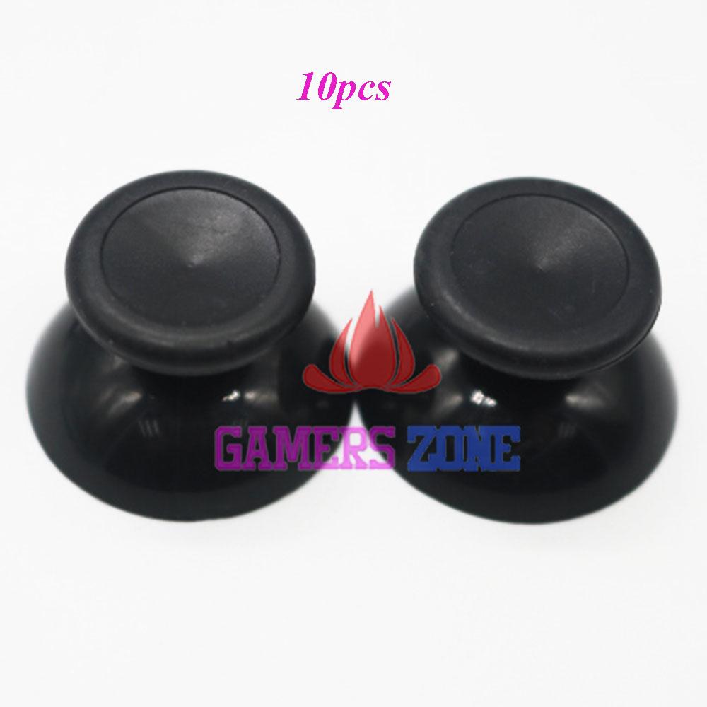 [해외]10PCS 블랙 조이스틱 엄지 스틱 캡 X 박스 360 & A를새로운 버전; 슬림 컨트롤러/10pcs Black Joystick Thumbstick Cap New Version For  Xbox 360 & Slim Controller