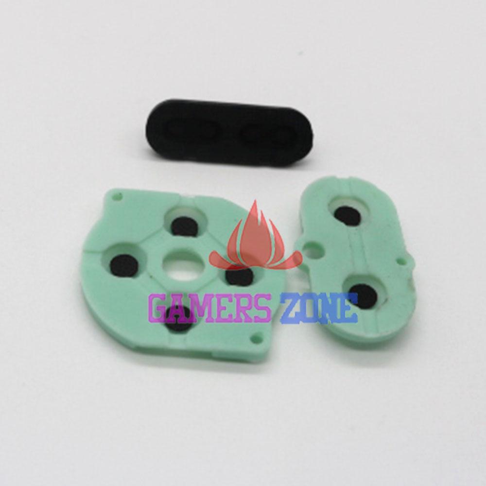[해외]게임 보이 컬러 GBC GBP 콘솔 용 10sets 전도성 고무 실리콘 패드 버튼/10sets Conductive Rubber Silicone Pads Buttons For Game Boy Color GBC GBP Console
