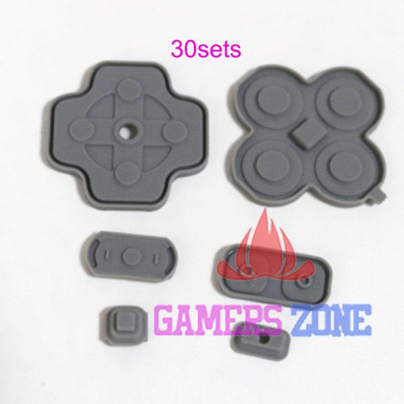 [해외]NEW 3DS 교체 용 30SETS 전도성 접착제 실리콘 고무 패드 실리콘 버튼/30SETS Conductive Adhesive Silicone Rubber Pad Silicone Button For NEW 3DS Replacement