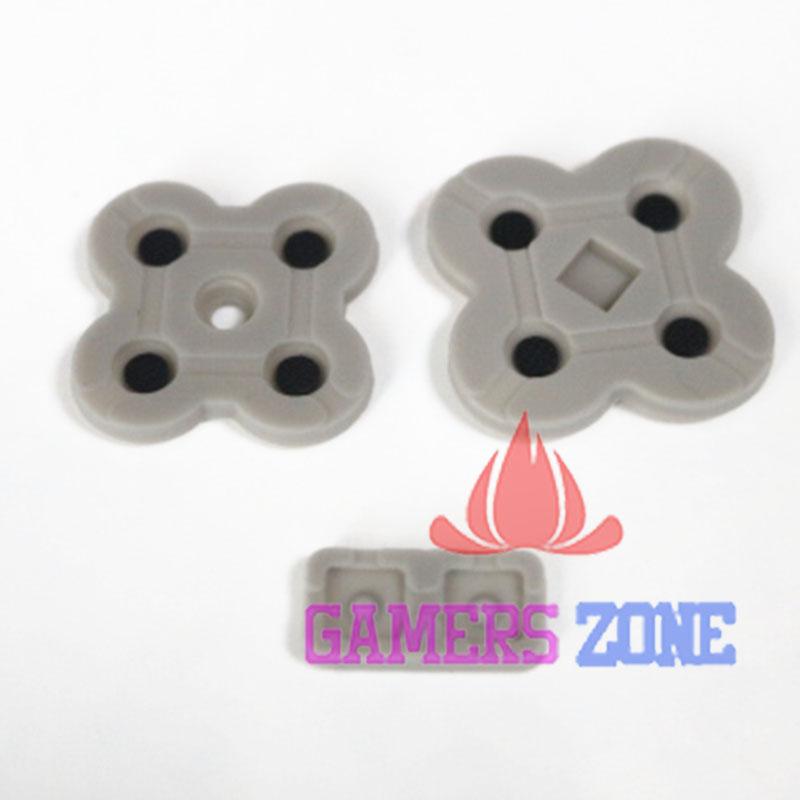 [해외]3DS를새로운 실리콘 전도성 고무 버튼 패드 설정 교체 부품/New Silicon Conductive Rubber Button Pad Set Replacement Part For 3DS