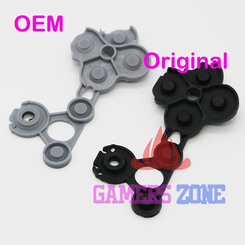 [해외]X 박스 하나의 컨트롤러에 대한 50sets 블랙 원래 컨트롤러 고무 전도성 연락 버튼 D-패드 패드/50sets Black Original Controller Rubber Conductive Contact Button D-Pad Pads for Xbox One