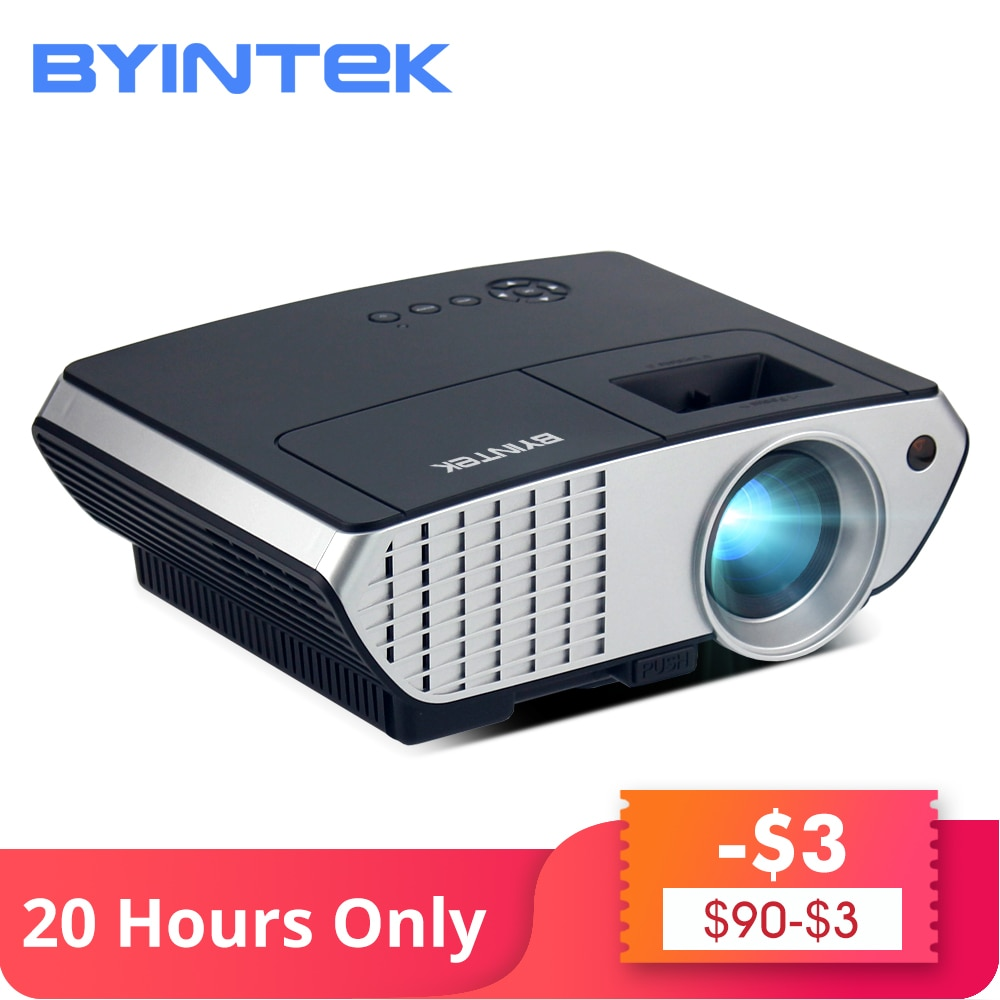[해외]/BYINTEK Brand MOON BL126 HDMI USB LCD Multimedia Digital Home Theater HD 1080P Video Portable LED Projector Beamer Proyector