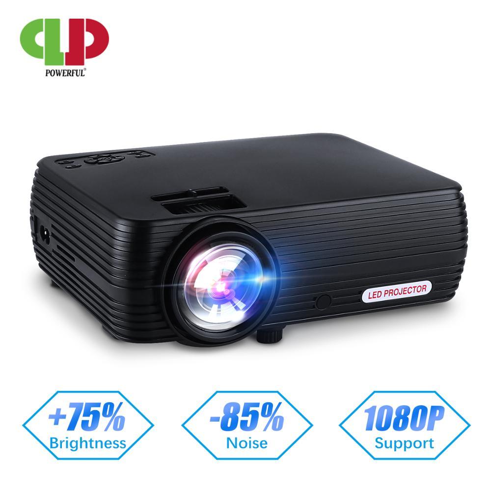 [해외]Powerful 안드로이드 6.0 WIFI Smart Projector Mini LED 3D TV Projector Support Full HD 1080p 4K Video Home Theater Beamer Proyector/Powerful 안드로이드 6.0 W