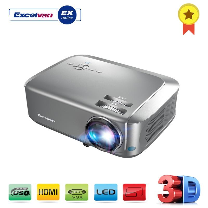 [해외]Excelvan bl68 홈 시어터 프로젝터는 빨간색 파란색 3d 1080 p 비디오를 지원합니다. hdmi vga usb 인터페이스 방진 네트 사용 가능/Excelvan bl68 홈 시어터 프로젝터는 빨간색 파란색 3d 1080 p 비디오를