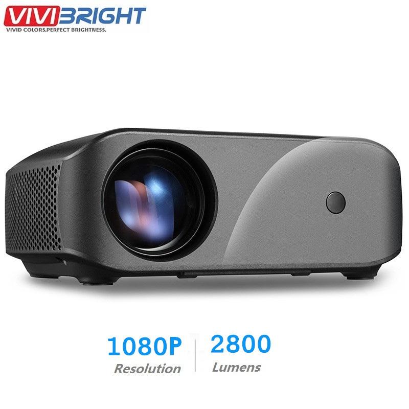 [해외]Vivibright f10 lcd 프로젝터 1280x720 p 2800 루멘 hdmi usb 홈 엔터테인먼트 프로젝터 내장 스피커 3d 비디오 proyector/Vivibright f10 lcd 프로젝터 1280x720 p 2800 루멘 hdm