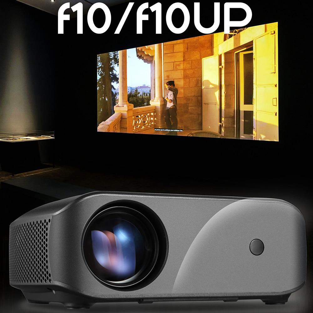 [해외]KEBIDU F10 LED Projector Full HD 1280*720 Resolution Support  Home Cinema MINI Portable Proyector for 3D beamer HD Proyector/KEBIDU F10