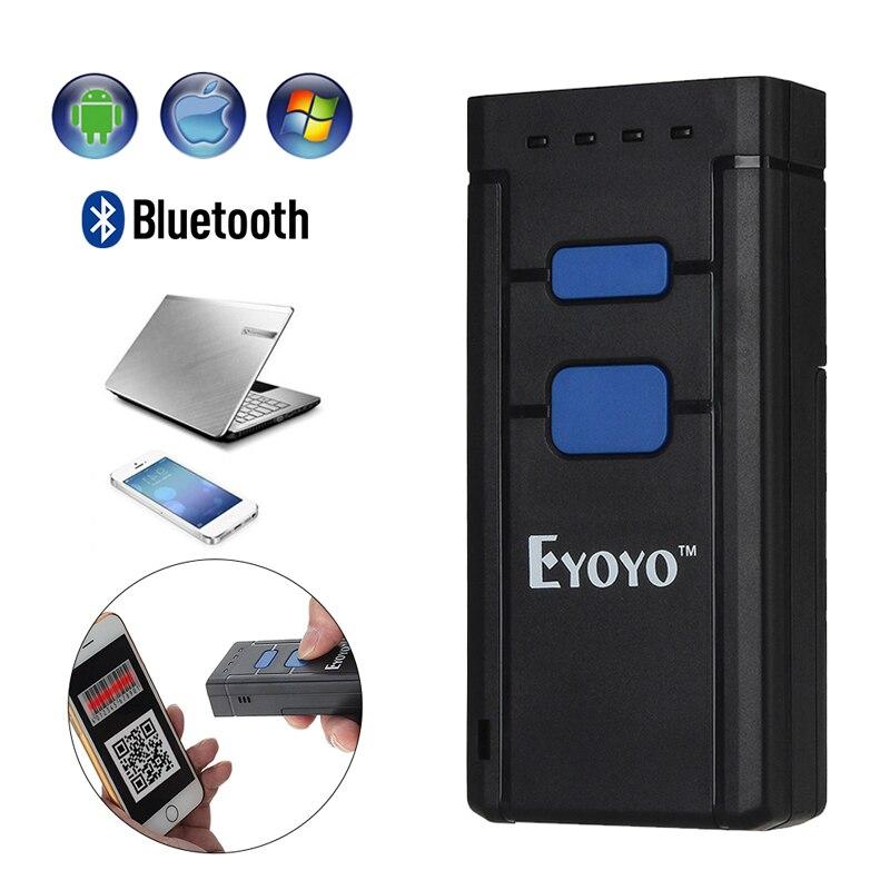 [해외]Mini Portable Bluetooth CCD 1D Barcode Scanner Wireless Bar Code Scanner Pocket 1D Code Decoder 안드로이드 Mobile Scanner Reader/Mini Portable Bluetoot