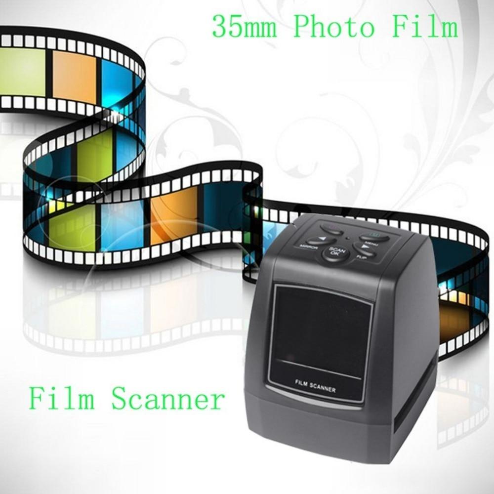 [해외]High Fast Photo Printe Resolution Photo Scanner 35mm/135mm Slide Film Scanner Digital USB Film Converter 2.36\