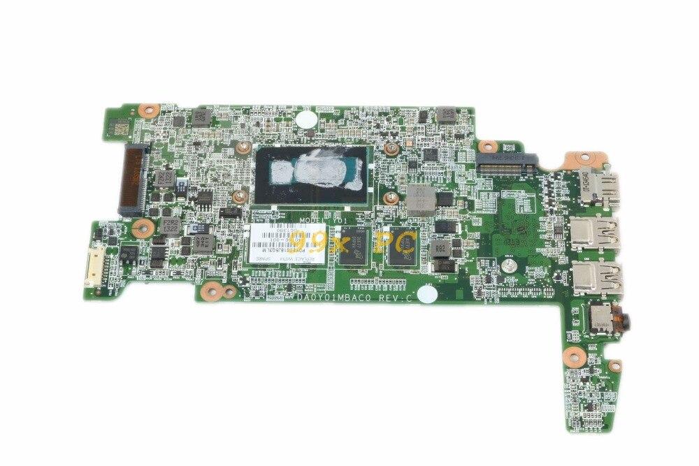 [해외]Laptop Motherboard FOR HP 14-Q039WM 14 G1 Laptop Motherboard W/ 2955U CPU 740160-001 DA0Y01MBAC0 4GB RAM DDR3 Test ok/Laptop Motherboard FOR HP 14