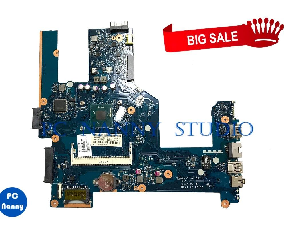 [해외] PC NANNY For  HP 15 15-R Laptop Motherboard 759879-501 759879-001 ZSO50 LA-A994P tested/ PC NANNY For  HP 15 15-R Laptop Motherboard 759879-501 7