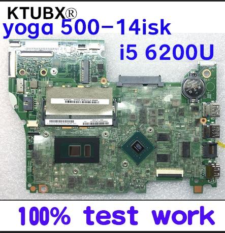 [해외]Ktuxb 448.06701.0011 lenovo FLEX3-1480 yoga 500-14isk 노트북 마더 보드 cpu i5 6200u gpu gt940m 2g ddr3 100% 테스트 작업/Ktuxb 448.06701.0011 lenovo