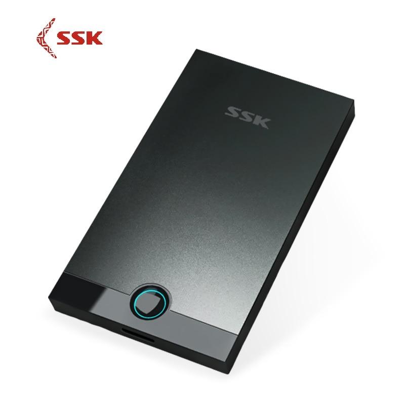 [해외]SSK Aluminium Alloy USB 3.0 HDD Enclosure 2.5 Inch SATA USB HDD Case Hard Disk Box External Hard Disk USB HDD Enclosure SHE085/SSK Aluminium Alloy