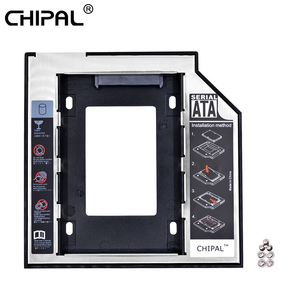 [해외]CHIPAL Universal 2nd HDD Caddy 9.5mm SATA 3.0 for 2.5\