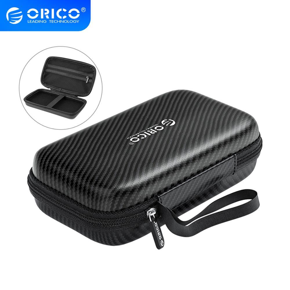 [해외]Orico power bank case 외장형 2.5 인치 하드 드라이브/이어폰/u 디스크 용 휴대용 hdd 보호 가방 usb 데이터 케이블 케이스/Orico power bank case 외장형 2.5 인치 하드 드라이브/이어폰/u 디스크 용