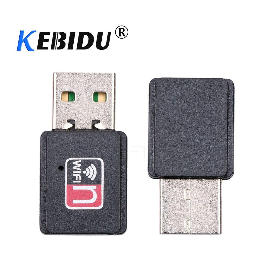 [해외]kebidu 2017 High Speed 150Mbps Mini USB Wifi Wireless Adapter MT7601 802.11 B/G/N Network Card LAN Dongle/kebidu 2017 High Speed 150Mbps Mini USB