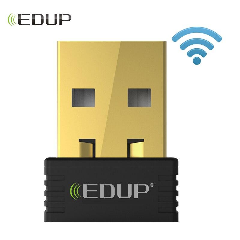 [해외]EDUP mini usb wireless wifi adapter 150mbps wi-fi receiver 802.11n usb ethernet adapter network card Support Windows Mac for PC/EDUP mini usb wire