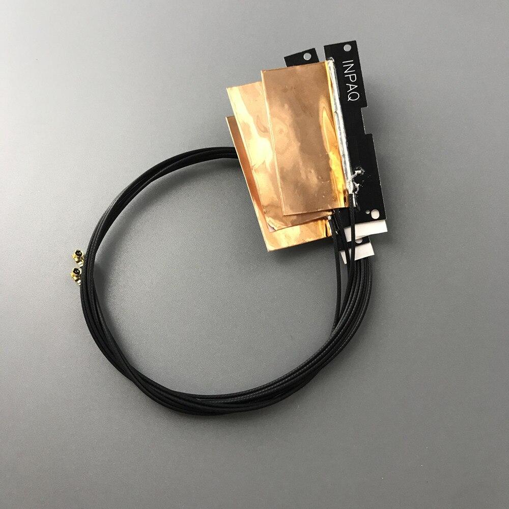 [해외] 3pcs Laptop internal U.FL antenna for Intel 6300 BCM94352 AR9380 AR5BHB112 MINI PCI-E wireless card antenna cable/ 3pcs Laptop internal U.FL ante