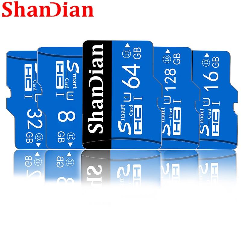 [해외] SHANDIAN Memory Card Class 10 Micro SD Card 8GB 16GB 32GB 64GB 128GB Micro Mini TF Card Package/ SHANDIAN Memory Card Class 10 Micro SD Card 8GB