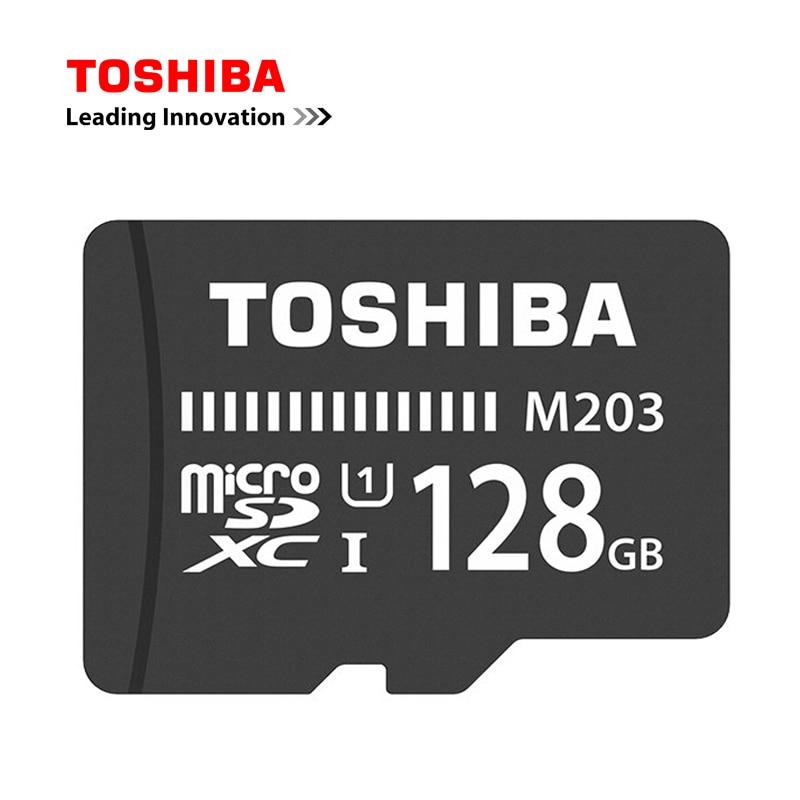 [해외]Toshiba 플래시 마이크로 메모리 카드 100 메가바이트/초 microsd 카드 UHS-I 128 gb 64 gb sdxc 32 gb 16 gb sdhc u1 class10 fullhd tf 카드 (핸드폰 용)/Toshiba 플래시 마이크로