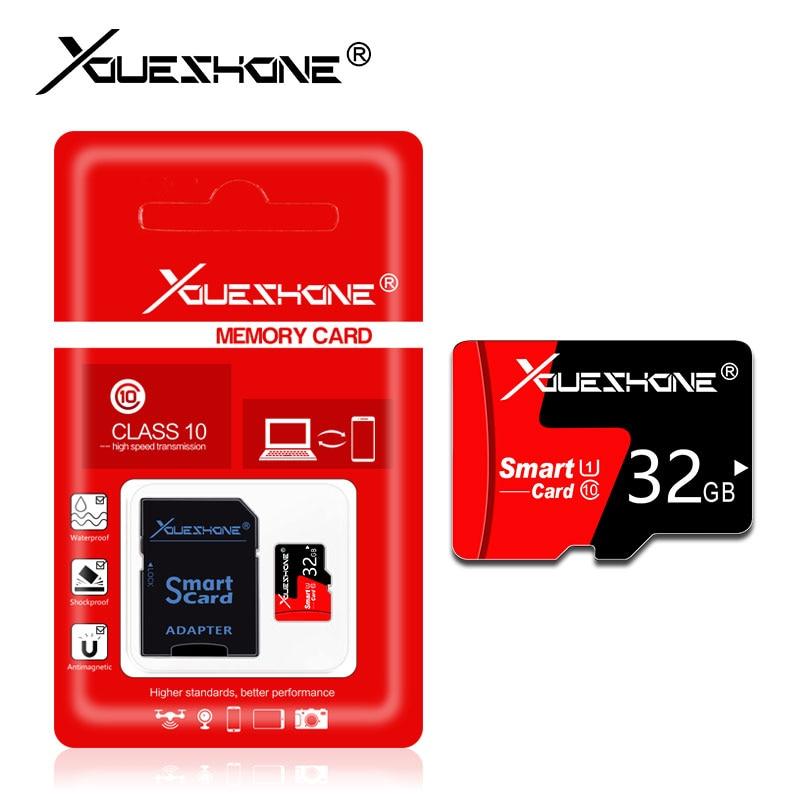 [해외]무료 배송 메모리 카드 클래스 10 microsd 8 기가 바이트 16 기가 바이트 32 기가 바이트 64 기가 바이트 128 기가 바이트 carte sd 마이크로 sd 카드 미니 tf 카드 소매 패키지/무료 배송 메모리 카드 클래스 10 mi