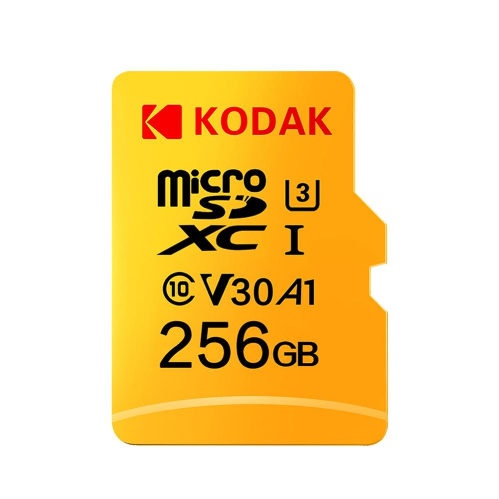 [해외]Kodak Micro SD Card 32GB 64GB 128GB 256GB 512GB TF Card U3 A1 V30 Memory Card 100MB/s Reading Speed 4K Video Record/Kodak Micro SD Card 32GB 64GB