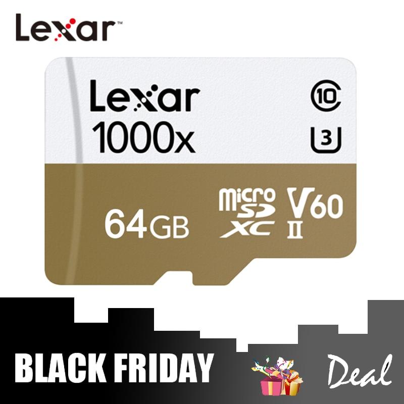 [해외]Lexar 마이크로 sd 카드 1000x 메모리 카드 32 gb tf 카드 64 gb 256 gb 150 메가바이트/초 c10 플래시 드라이브 (카메라 용)/Lexar 마이크로 sd 카드 1000x 메모리 카드 32 gb tf 카드 64 gb