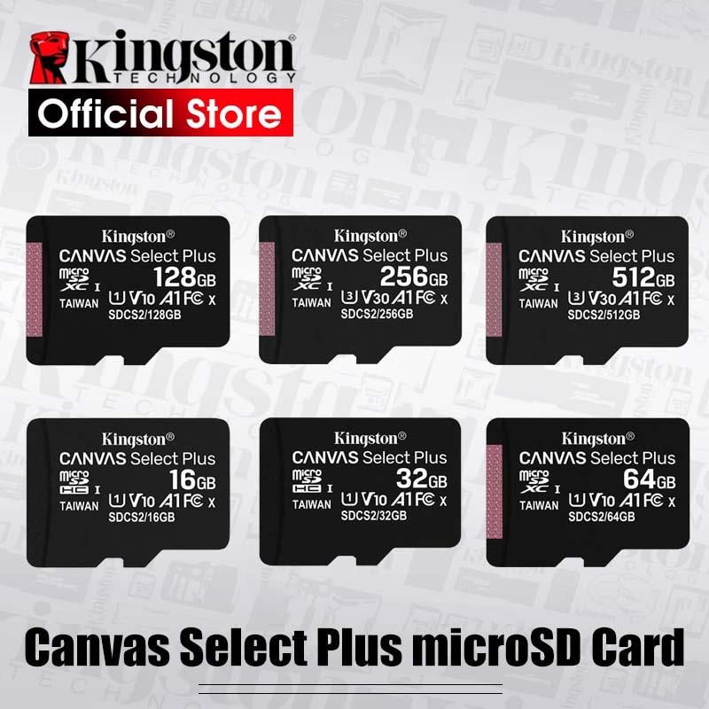 [해외]킹스톤 마이크로 sd 카드 메모리 카드 class10 carte sd memoria c10 미니 sd 카드 sdhc/sdxc tf 카드 UHS-I 휴대 전화/킹스톤 마이크로 sd 카드 메모리 카드 class10 carte sd memoria c