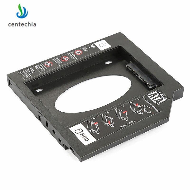 [해외]Centechia universal SSD solid state drive holder Ultra thin Notebook PC Laptop SATA Hard Disk Drive Optical Bay CD Driver Slot/Centechia universal