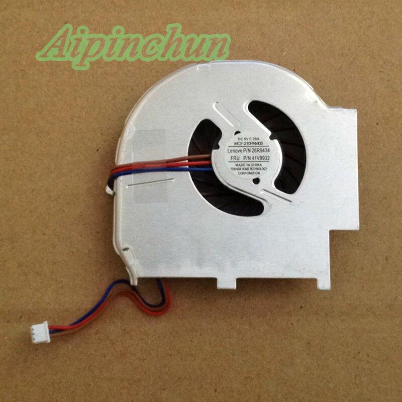[해외]Aipinchun 새로운 노트북 노트북 CPU 냉각 쿨러 팬 레노버 들어 IBM의 씽크 패드 T60 T60P 3 핀/Aipinchun New Laptop Notebook CPU Cooling Cooler fan For Lenovo IBM Thinkpad T60