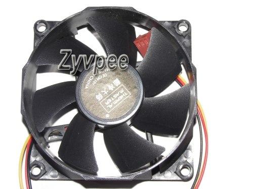 [해외] New Original 8CM 12V A8025-25RB-3AP-U1 DF8025M12S A8025-22RB-3AN-F1 DF0802512RFLN A8025-42RB-3AN-P1 MGT8012ZR-O25 Case Fan/ New Original 8CM 12V