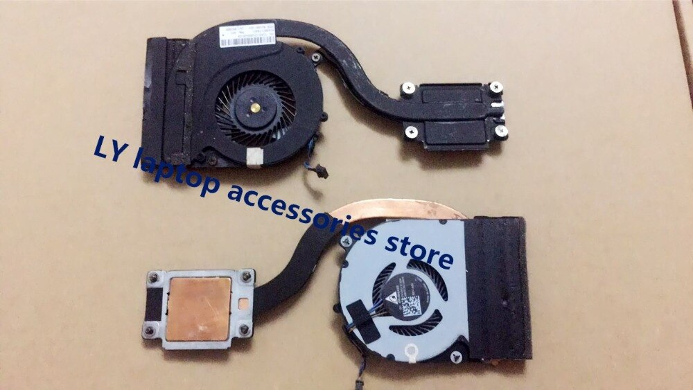 [해외]For HP EliteBook 820 G3 825 G3 720 G3 725 G3 original laptop CPU heatsink & fan Radiator & Fan  821691-001 4PIN/For HP EliteBook 820 G3 82