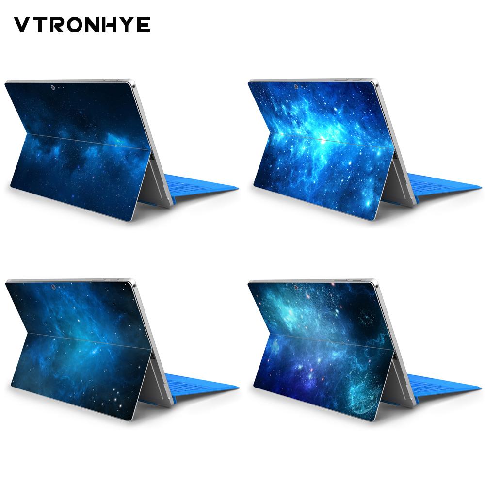 [해외]Microsoft surface pro 6/5 용 다채로운 노트북 스티커 microsoft surface pro 4 용 별이 빛나는 하늘 시리즈 뒷면 커버 스티커/Microsoft surface pro 6/5 용 다채로운 노트북 스티커 micr