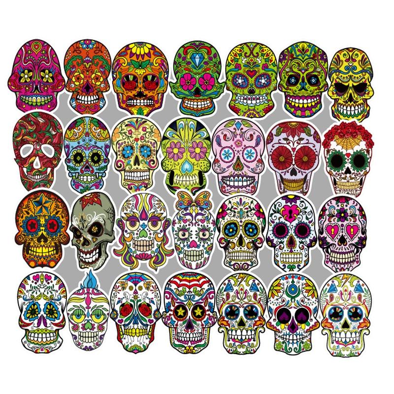 [해외]50 PCS Colorful personality stickers multiple uses vinyl stickers  decals for computers laptop skin for macbook HP acer J58/50 PCS Color