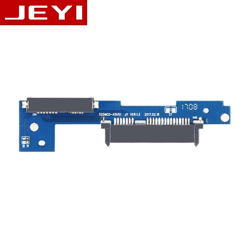 [해외]JEYI Pcb96 ASUS X556 A556 K556 F556 VM591 FL5900 series optical drive hard drive bracket pcb SATA TO slim SATA 6G caddy Only PCB/JEYI Pcb96 ASUS X