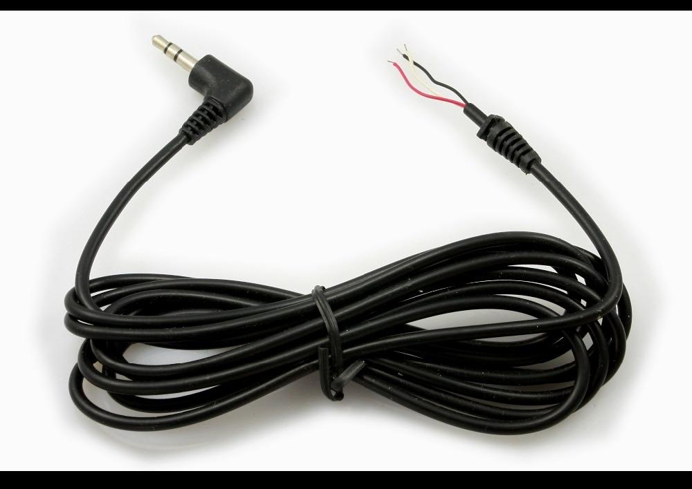 2 미터 스테레오 케이블 (3.5mm 스테레오 커넥터 + 납땜 블록 포함) 적외선 원격 제어 수신기-pj199 용 파충류 케이블