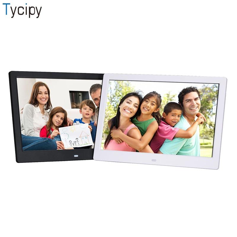 Tycipy SJD-1203 12 인치 디지털 포토 프레임 지원 풀 포맷 비디오 사진 다기능 고화질 사진 앨범