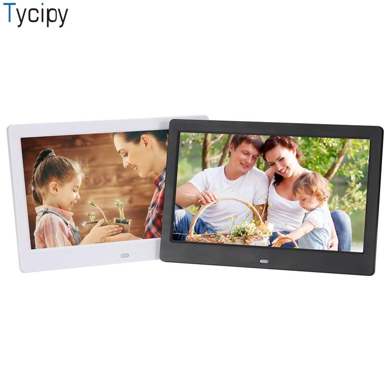 Tycipy SJD-1003 10.1 인치 와이드 스크린 고화질 led 전자 앨범 lcd 화면 mp4, mp3, 기능을 갖춘 다국어 지원