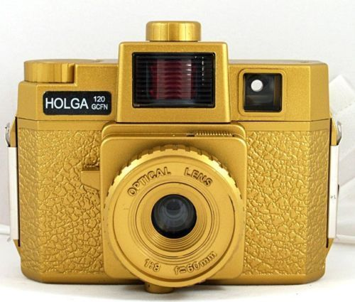 [해외]Holga 120GCFN Gold Medium Format Film Camera Glass Lens / Colored Lomo Brand new/Holga 120GCFN Gold Medium Format Film Camera Glass Lens / Colored