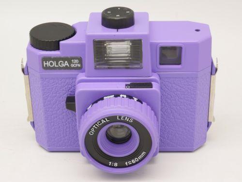 [해외]Holga 120 gcfn/gcfn 120 중형 필름 카메라 퍼플 lomo brand new/Holga 120 gcfn/gcfn 120 중형 필름 카메라 퍼플 lomo brand new