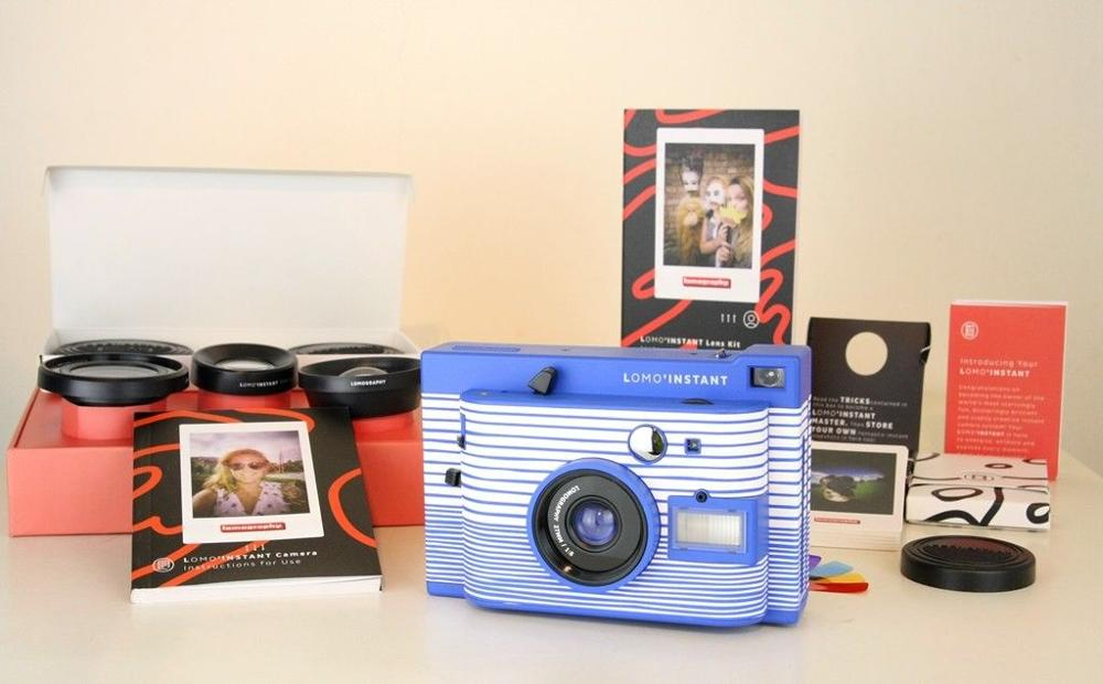[해외]로모 LomoInstant ca 산 세바스찬 Camera + 3 렌즈로 구성/Colored 젤 Filters SET/로모 LomoInstant ca 산 세바스찬 Camera + 3 렌즈로 구성/Colored 젤 Filters SET