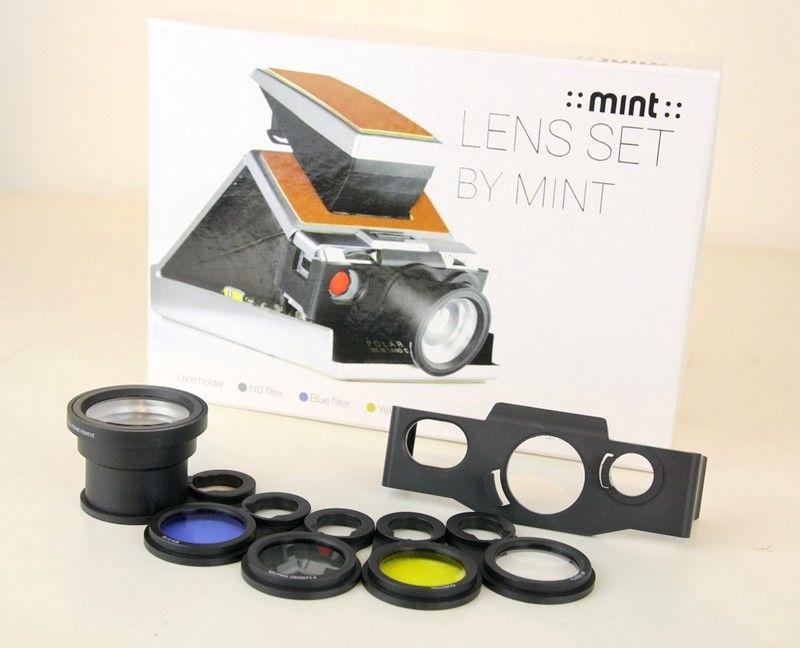 [해외]모델 2, 소나 알파 1, slr690 slr680 용 폴라로이드 sx70 렌즈 세트 (nd, 근접 촬영, 어안 필터)/모델 2, 소나 알파 1, slr690 slr680 용 폴라로이드 sx70 렌즈 세트 (nd, 근접 촬영, 어안 필터)