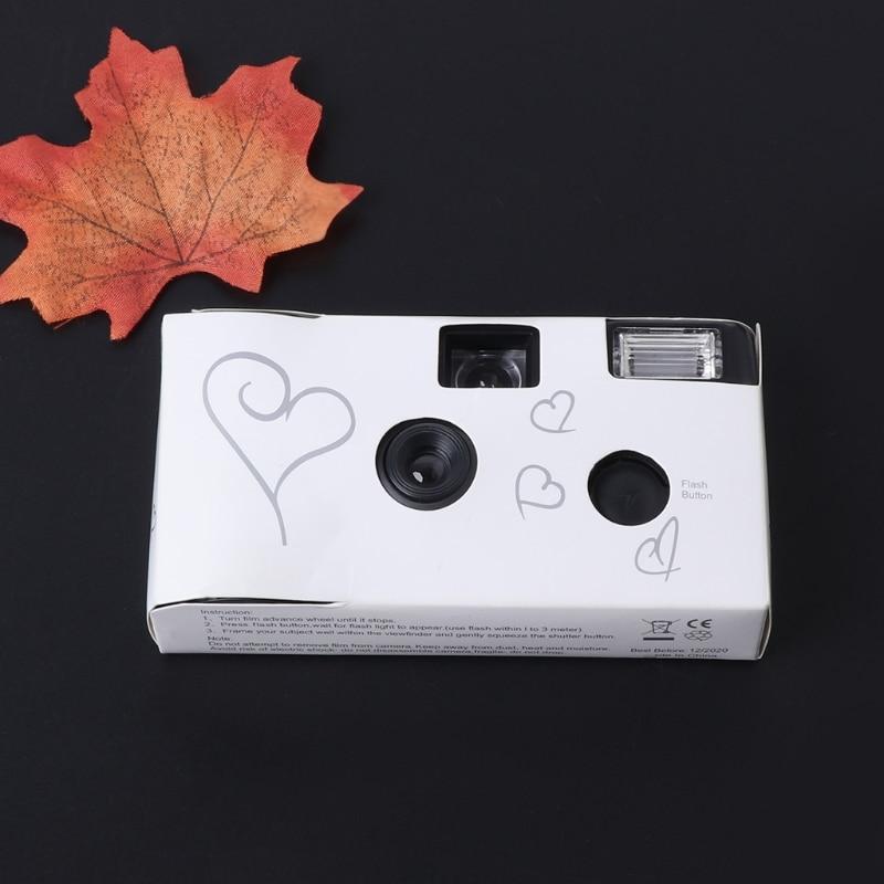 [해외]36 사진 전원 플래시 hd 단일 사용 일회용 필름 카메라 파티 선물/36 사진 전원 플래시 hd 단일 사용 일회용 필름 카메라 파티 선물