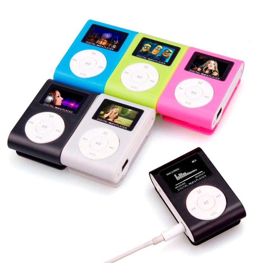 [해외]HIPERDEAL 미니 USB 클립 MP3 플레이어 LCD 화면 지원 32 기가 바이트 마이크로 SD TF 카드 ping 1M16/HIPERDEAL Mini USB Clip MP3 Player LCD Screen Support 32GB Micro SD TF Ca
