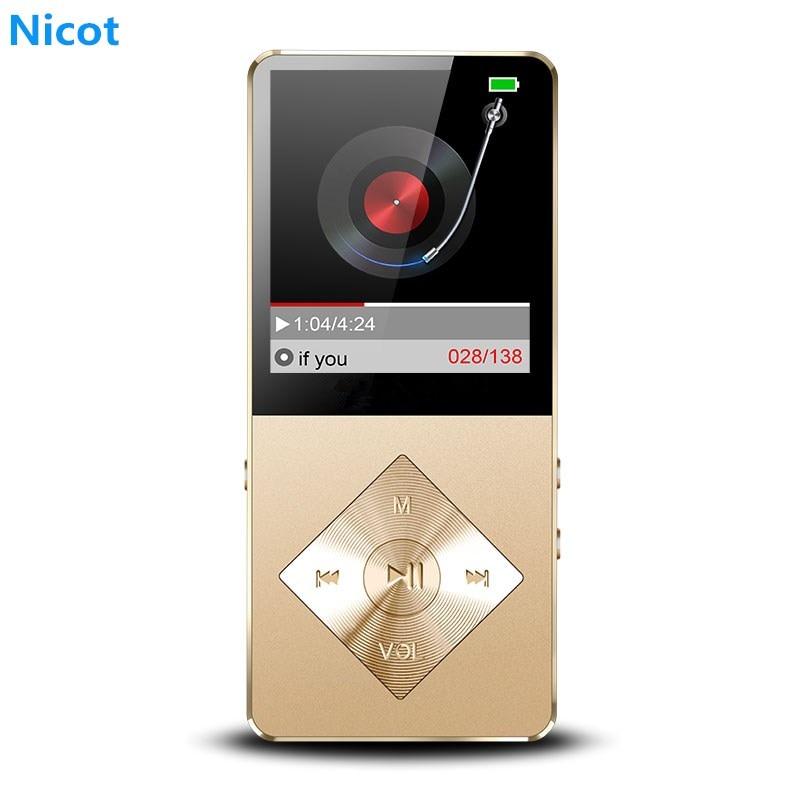 [해외]NICOT 휴대용 워크맨 미니 플레이어 MP3  30 hoursSpeakers 라디오 FM 전자 책 오디오 비디오 MP3 16 기가 바이트 8 기가 바이트 4 기가 바이트/NICOT Portable Walkman Mini Player MP3 Play 30 hou