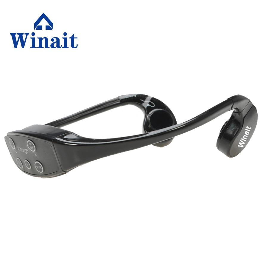 [해외] 저렴한 winait 방수 뼈 condution MP3  8 GB 수영 스포츠 mp3 헤드셋 이어폰/china cheap  winait waterproof bone condution mp3 play  8GB swimming  sports mp3 headset